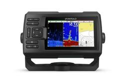 "Garmin Striker Plus 5cv with Transducer, 5"" GPS Fishfinder w"