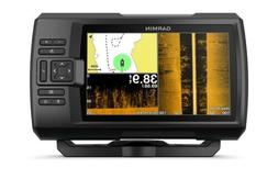 "Garmin Striker 7sv with Transducer, 7"" GPS Fishfinder with C"