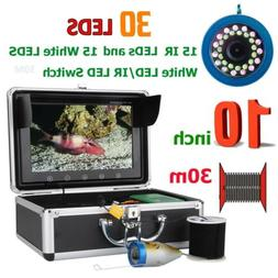 "10"" 30M 1000TVL Fish Finder Underwater Fishing Camera For Ic"