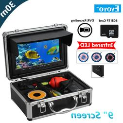 30M Underwater Video Camera System 9 inch color TFT LCD Scre
