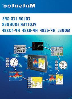 """5.7"""" Marine GPS Chart Plotter combo with Fish Finder /With T"""