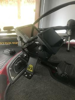 7 inch Over the pedal dual mount