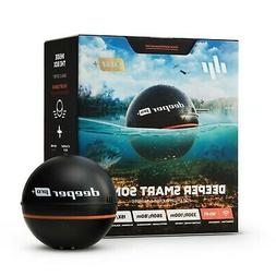 "Brand New Deeper Smart Sonar PRO+, 2.55"", Black"