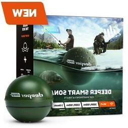 Deeper CHIRP + / Castable, Wireless, GPS Enabled, GPS Fish F