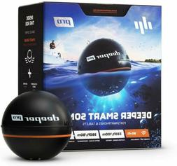 PRO Smart Portable Sonar - Wireless Wi-Fi Fish Finder for Ka