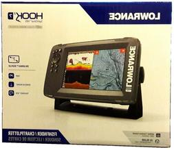 """Expedited Delivery! Lowrance HOOK2-7 7"""" Chartplotter/Fishfin"""