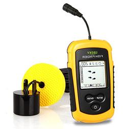 Lucky Portable Depth Finders Fishing Sonar Transducer Wired