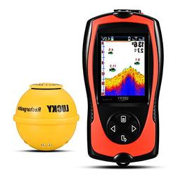 Lucky Wireless Fish Finder with Attracting Fish Lamp for Sho
