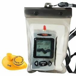 Lucky FFW-718 Wireless Portable Sonar Fish Finder with Dot M