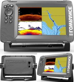 Fish Finder/Depth Finder with SplitShot Transducer and Prelo