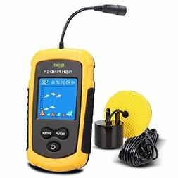 LUCKY Fish Finder Portable, Handheld Wired Fishfinder Fishes