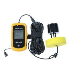 Sunsbell Fish Finder New Portable Sonar LCD Alarm Sea Contou