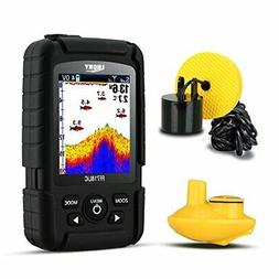 LUCKY Fish Finder Wired & Wireless Portable Fishing Sonar fo