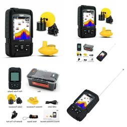 Lucky Fish Finder Wired  Wireless Portable Fishing Sonar for