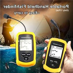 Fishing Portable Fish Finder Wired Boat Kayak Fish Finders f