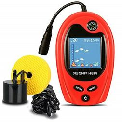 Lucky Fishing Portable Fish Finder with Compass Sonar Sensor