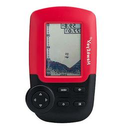 HawkEye FishTrax  1C Handheld Fish Finder w/HD Color VirtuVi