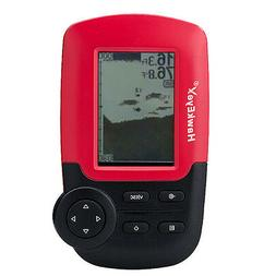 HawkEye FishTrax  1X Kayak Dot Matrix Portable Fish Finder
