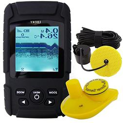 Lucky Handheld 2-in-1 Fish Finder Wired Cable 100m and 40m W