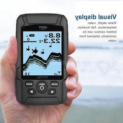 LUCKY Handheld Fish Finder Monitor Wireless Sonar Back Light