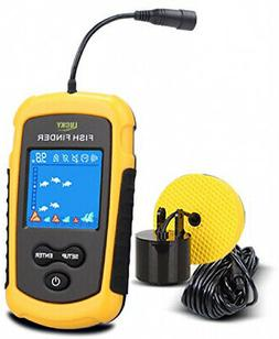 LUCKY Handheld Fish Finder Portable Fishing Kayak Fishfinder