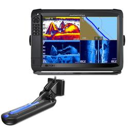Lowrance HDS-12 Carbon With Active Imaging 3-in-1 Transom Mo
