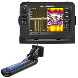 NEW Lowrance Hds-7 Carbon Mfd With Totalscan Transom Mount T
