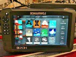 Lowrance HDS 9 Carbon Fishfinder / GPS / Charts