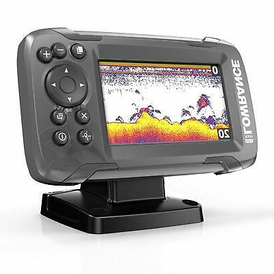 NEW Freshwater Fish Finder Saltwater Electric Boat Fishing D