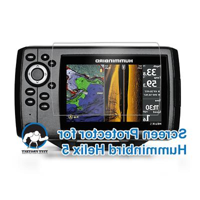 Tuff Protect Clear Screen Protectors for Humminbird Helix 5