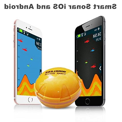 Botrong Wireless Finder Sea Lake Detect Smartphone