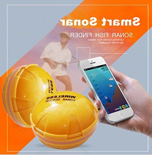 Botrong Wireless Sonar Fish Finder Detect for