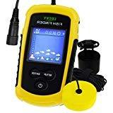 LUCKY Fish Finder Sonar Sensor Wired Transducer 100m  Depth