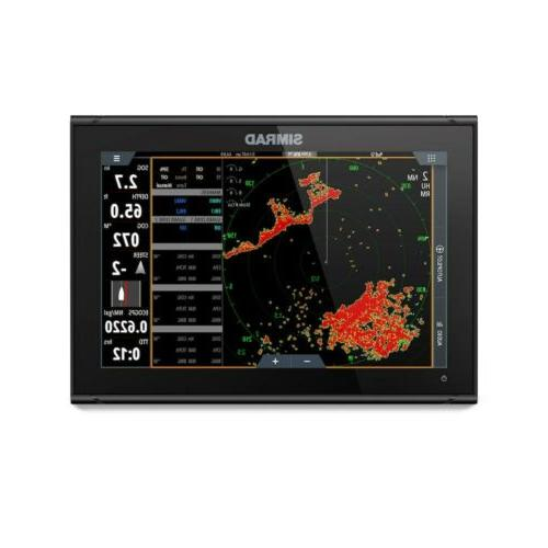 Simrad Fishfinder with Worldwide 000-14137-001