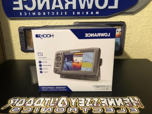 Lowrance Hook 7 With HDI Transducer And C-Map