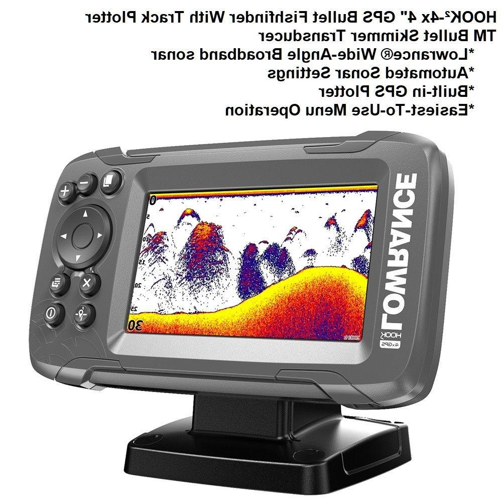 "Lowrance 4"" GPS Bullet With SolarMAX™ Screen"