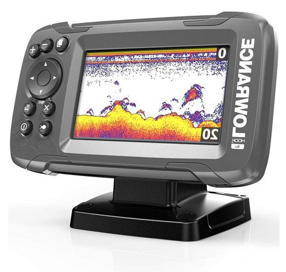 Lowrance HOOK2 Finder with Bullet Transducer