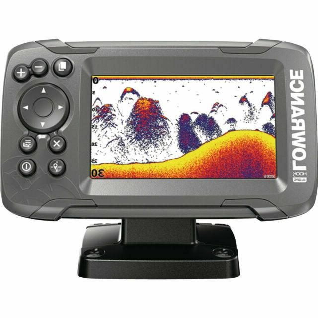 hook2 4x gps fish finder with bullet