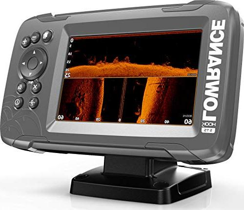 Lowrance 5-inch Fish Finder with TripleShot Inland Maps Installed