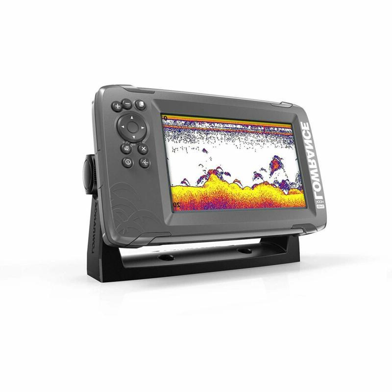 Lowrance - 5-inch Finder with SplitShot Transducer and Plotter