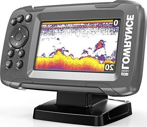 Lowrance HOOK2 4X 4-inch Fish Finder CHIRP Sonar …