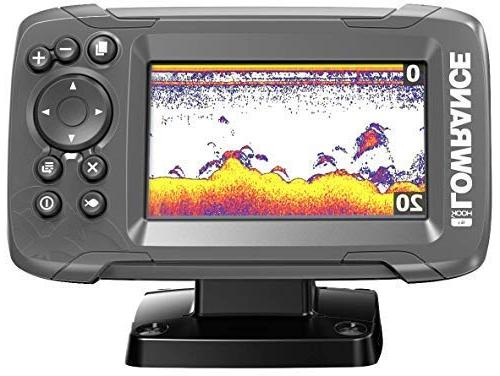 Lowrance HOOK2 4X 4-inch Finder CHIRP
