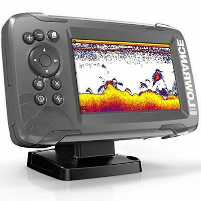 Lowrance HOOK2 5-inch Finder with SplitShot Transducer and GPS Plotter