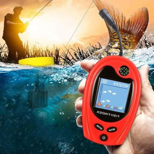 Fish Finders Depth Finders for Kayaks Portable Sonar Wired T