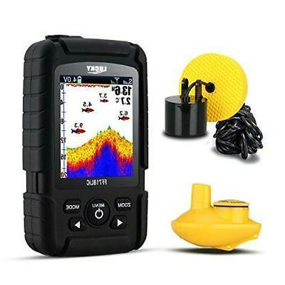 lucky fish finder wired and wireless portable