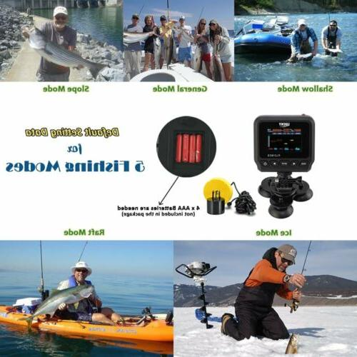 LUCKY Fish Finders Boat Depth Finder Fishing Kayak