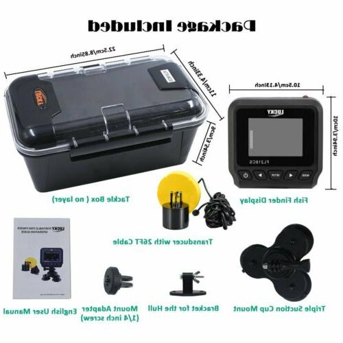 LUCKY Boat Depth Finder Fishing Kayak Fish Finder