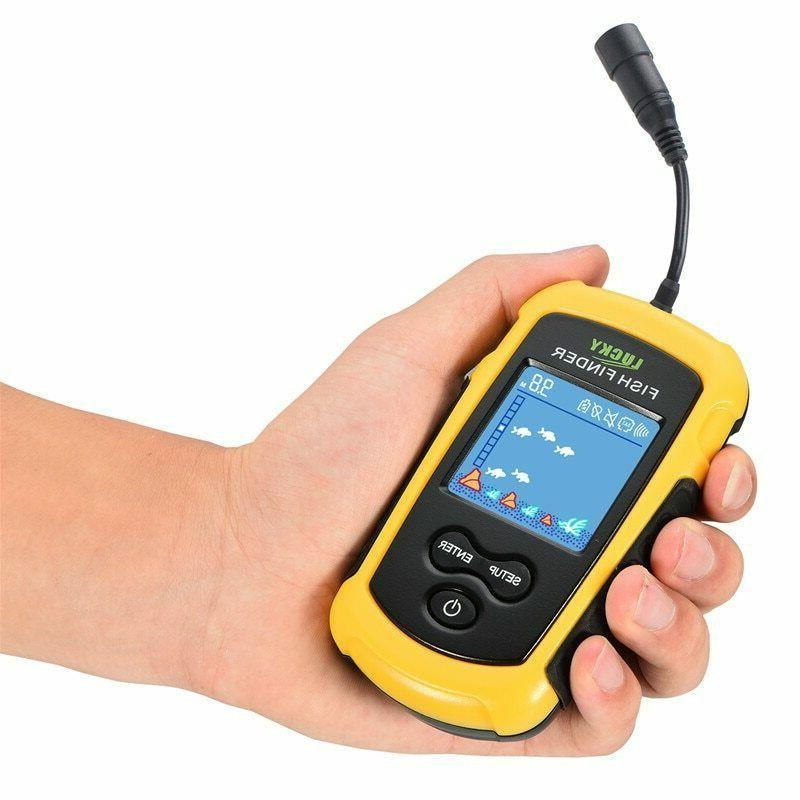 Portable Fish Finder Sonar With Fish Finder Accessories Echo