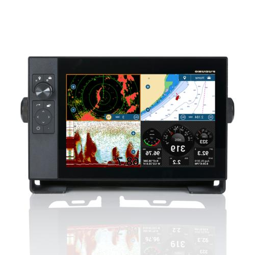 """FURUNO TZTOUCH3 12"""" MFD W/1KW CHANNEL CHIRP SOUNDER TZT12F"""