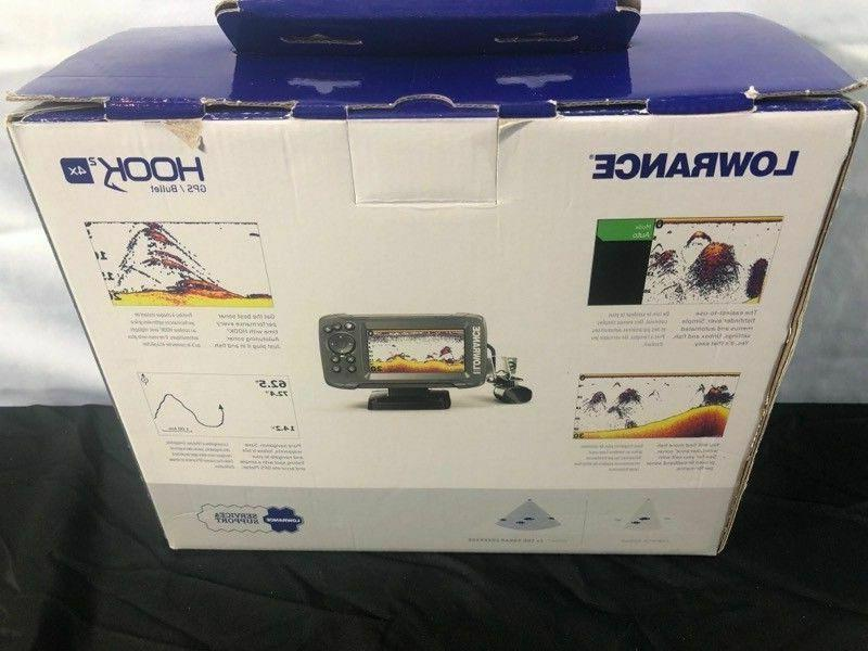 NEW!Lowrance Transducer and Plotter Fishfinder